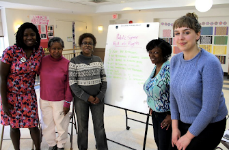 Photo: 4.15.15 CASS trained women of N Street Village on dealing with street harassment - DC