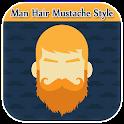 Man Hair Mustache & Beard Style - Boy Photo Editor icon
