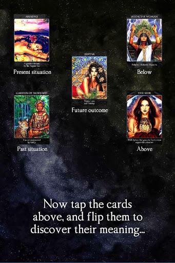 Crystal Wind Oracle Cards Apk Download 17