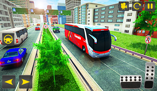 Driving Bus Simulator - Bus Games 2020 3D Parking 4 screenshots 2