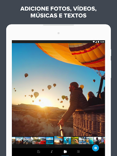 Quik - Editor de Vídeo da GoPro para fotos, clipes screenshot 7