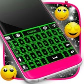 Green Neon Keyboard