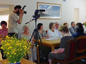 """Photo: """"Žodžių menas ir muzika"""" - LAB (Lietuvos aklųjų biblioteka) organizuojama kūrybinė stovykla-seminaras, skirta 300-osioms K. Donelaičio gimimo metinėms;  Zelva, 2014 gegužės 22-23 d."""