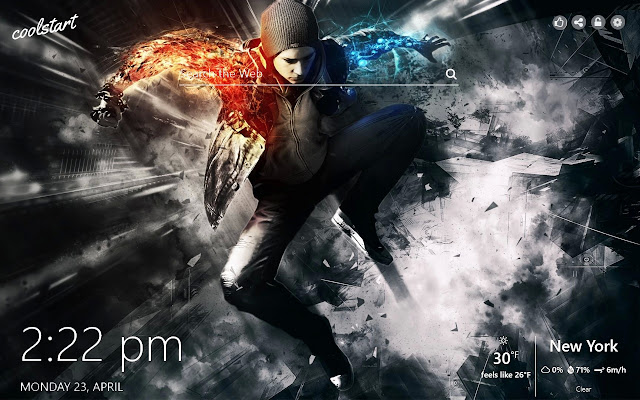inFamous Second Son HD Wallpapers Game Theme