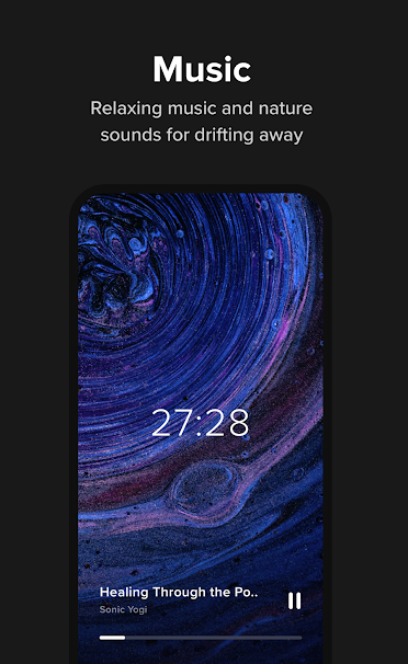 Screenshot of Insight Timer app on mobile phone