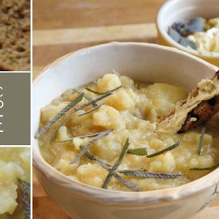 Rustic Potato Soup.