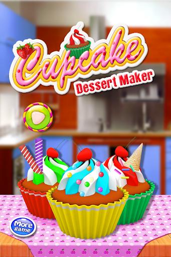 カップケーキのデザートメーカー
