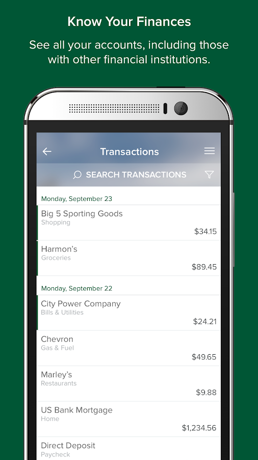 myFinance- screenshot