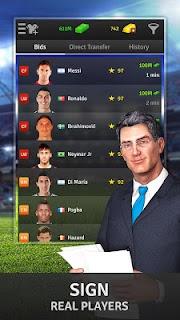 Golden Manager - Football Game screenshot 01