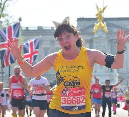 Jeanie prepares for London Marathon