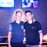 at VIBE nightclub with my buddy Jimmy in Taipei, T'ai-pei county, Taiwan