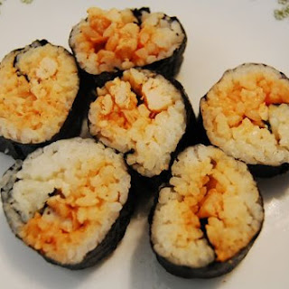 Buffalo Chicken Maki Roll
