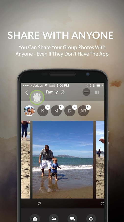 Lasso - Private Photo Sharing- screenshot