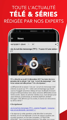 Télé 7 – Programme TV & Replay screenshot 6