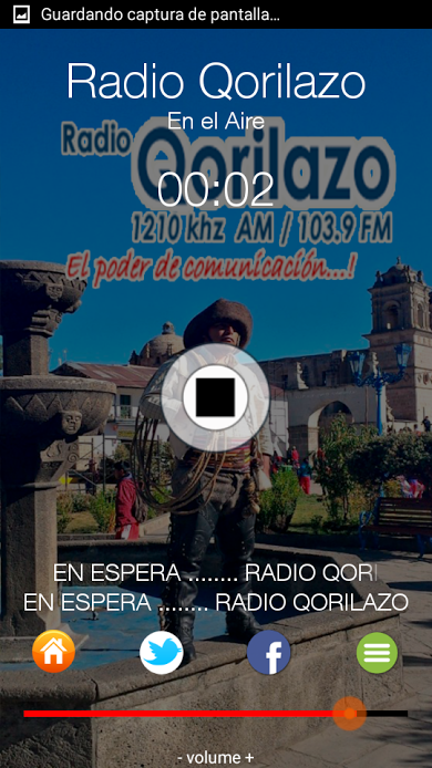 Radio Qorilazo- screenshot
