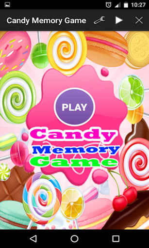 キャンディメモリーゲーム