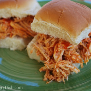 Buffalo Chicken Sandwiches- Crockpot