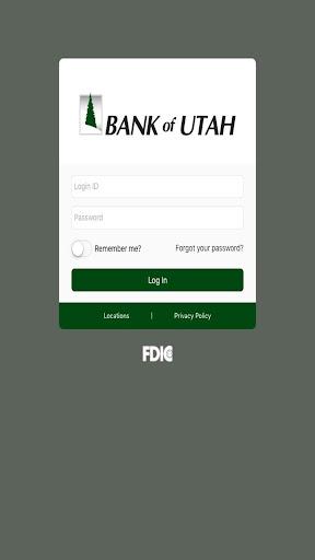 Bank of Utah Mobile Banking