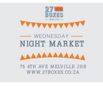 Earthings at Wednesday Night Market : 27 Boxes in Melville