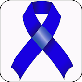 Colon Cancer Ribbon doo-dad
