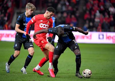 Selim Amallah (Standard) kon wel leven met het gelijkspel tegen Club Brugge
