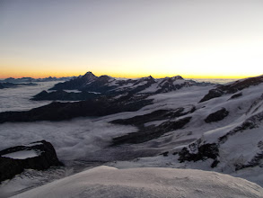 Photo: Dawn view from Castor