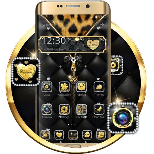 Leopard Print - Gemstone Theme