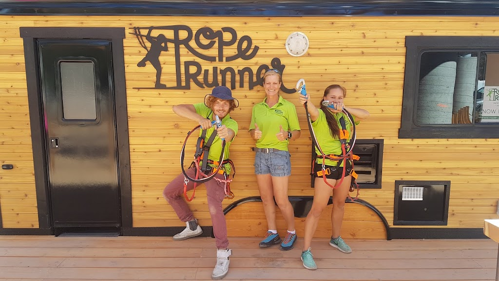 Rope Runner staff ready for action
