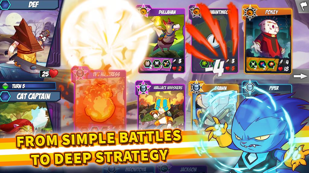 Download Tap Cats: Epic Card Battle (CCG) APK latest version
