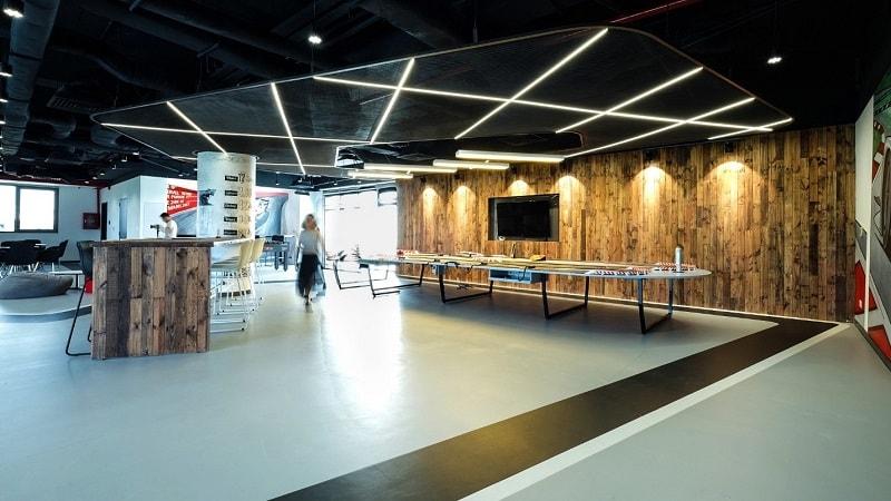 mẫu thiết kế không gian văn phòng đẹp