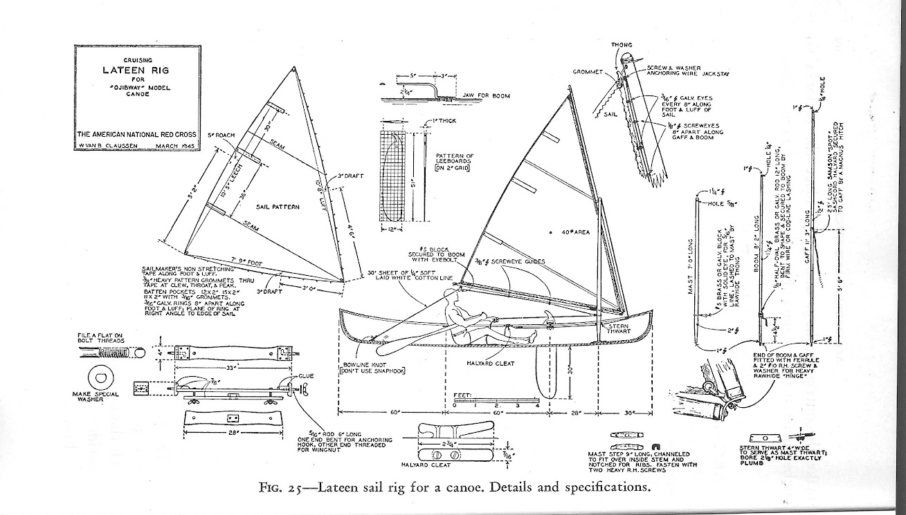 Lateen Sails To Build Sailboat Mast Wiring Diagram Vbclaussen Liked A System Of Eyelets And Wires On Boom Yard As They Let Sail Tension Along These Spars Equalize Itself Easily