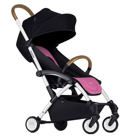 Bumprider Connect Stroller White/Pink
