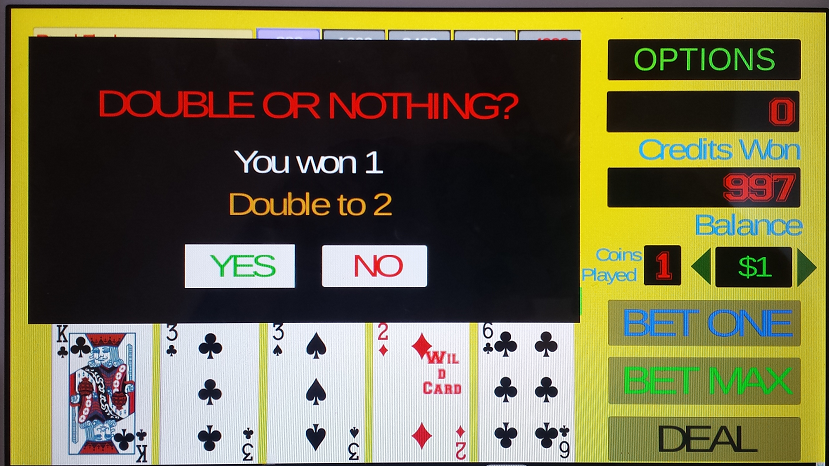 Deuces wild poker free online games