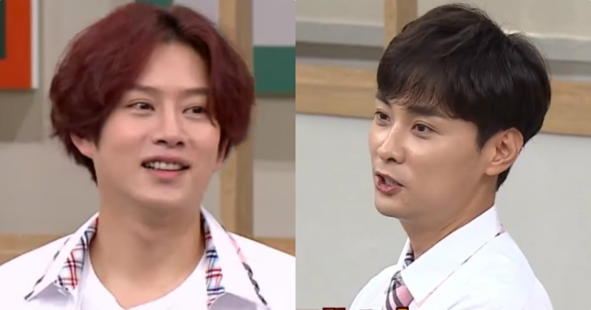 Heechul Apologizes To Min Kyung Hoon For His Dating Rumor With Twice S Momo Koreaboo