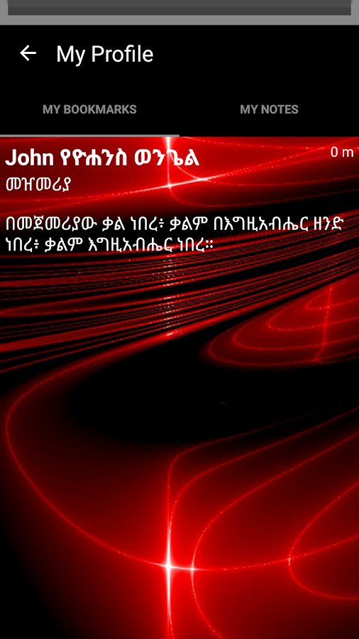 Amharic Bible 3D- screenshot