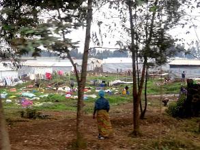 Photo: Rubavu district - Congolese refugee camp Nkamira