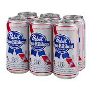 6 Pack of PBR Tall Boys