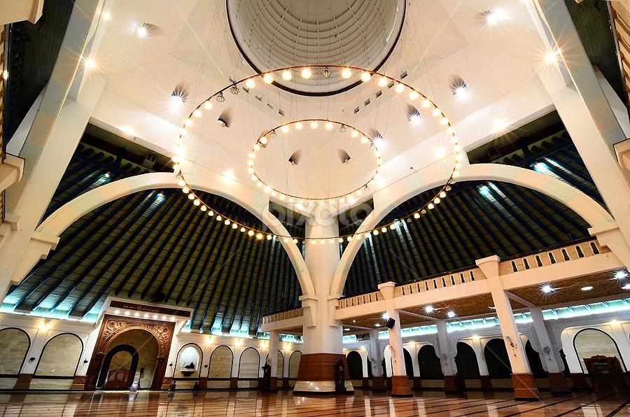 Masjid Agung Semarang Other Interior Buildings Architecture