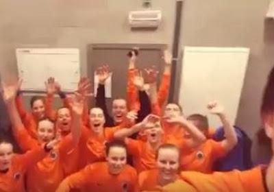 Les filles du Club de Bruges en lumière