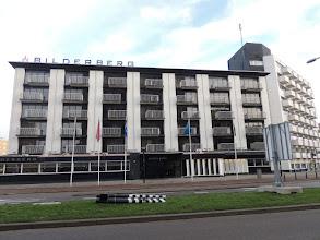 Photo: Zaterdagmorgen arriveren we al vroeg bij dit hotel.