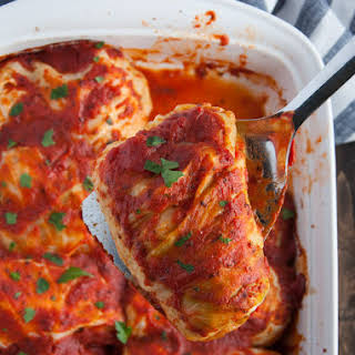 Turkey Cabbage Rolls.