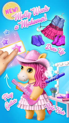 Pony Sisters Pop Music Band - Play, Sing & Design screenshots 1