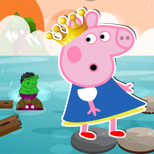 Princess Peppa Jump Game Pig Jumping