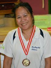 Photo: Senioren Einzel Damen – 3. Platz Ubon Puchas