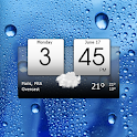 Digital Clock & World Weather icon