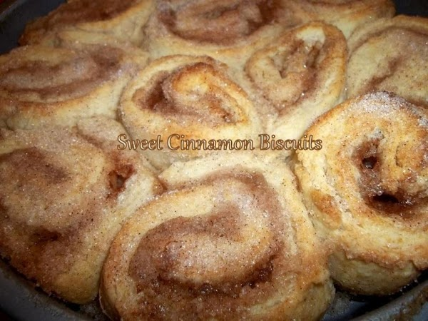~ Gram's Sweet Cinnamon Biscuits ~ Recipe