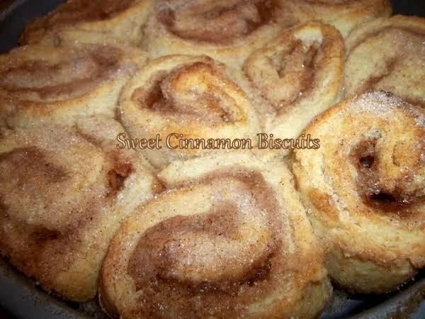 ~ Gram's Sweet Cinnamon Biscuits ~