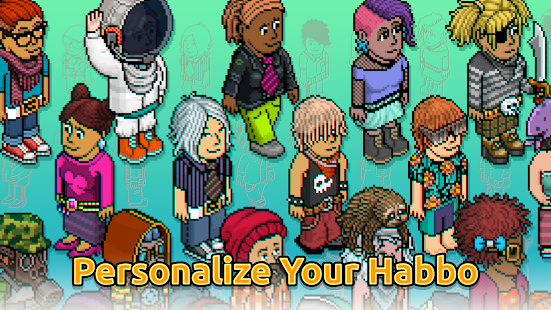 Habbo - Virtual World - náhled