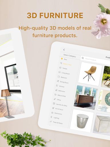 Homestyler - Interior Design & Decorating Ideas 4.0.0 Screenshots 8