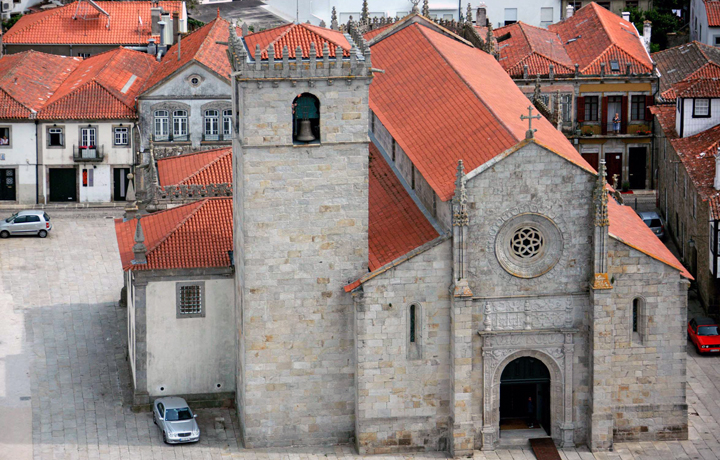 Mother Church from Caminha